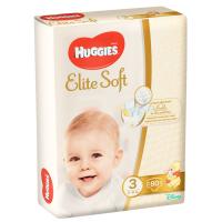 Підгузники Huggies Elite Soft 3 5-9кг 80шт.