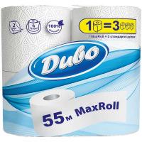 Папір туалетний Диво Max Roll 2-шар. білий 4шт.