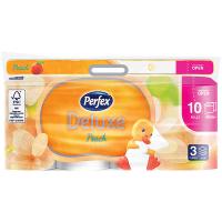 Папір туалетний Perfex Deluxe Peach 3-шар.10рул.