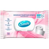 Туалетний папір вологий Smile Sensitive/Fresh Aroma, 44 шт.
