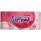 Туалетний папір Soffione Premio Fancy Camellia Рожевий, 8 шт.