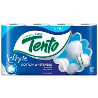 Папір туалетний Tento 8*21 2-шаровий білий
