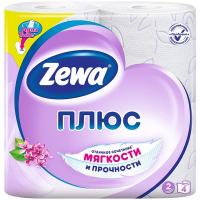 Папір туалетний Zewa плюс Aqua tube 2-х шаровий 4шт