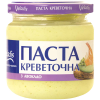 Паста креветочна Veladis з авокадо с/б 150г