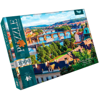 Пазли Danko Toys Charles Bridge over 1000ел арт.С1000-09-02