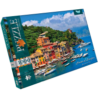 Пазли Danko Toys Harbor of Portofino 1000ел арт.С1000-09-06