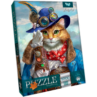 Пазли Danko Toys Lady Cat 1000ел арт.С1000-09-10