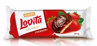 Печиво Roshen Lovita Jelly Cookie Полуниця 135г