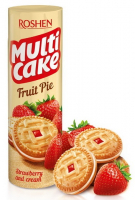 Печиво Roshen Multi Cake Полуниця-крем 195г