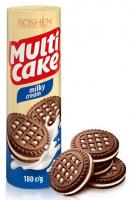 Печиво Roshen Multi Cakе молочно кремова начинка 180г