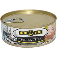 Печінка тріски Baltic Fish натуральна 240г