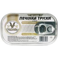 Печінка тріски Valmis De Luxe в олії 115г