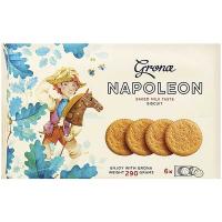 Печиво Grona Наполеон пряжене молоко 290г