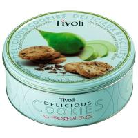Печиво Jacobsen Tivoli Грушеве з мол. шоколадом 150г