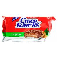 Печиво Конті Супер-Контік з горіхом 100г