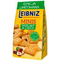 Печиво Leibniz Minis шоколад фундук 100г