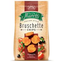 Печиво Maretti Брускети томати-оливки-орегано 70г