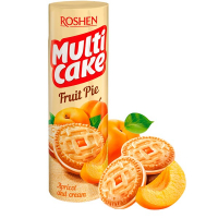 Печиво Roshen Multicake Apricot and Cream 195г