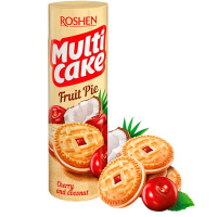 Печиво Roshen Multicake Cherry and Coconut 195г