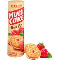 Печиво Roshen Multicake малина-крем 195г