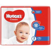 Підгузки Huggies Classic 4-9кг 78шт