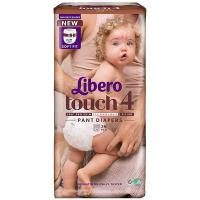 Підгузки-трусики Libero Touch 4 7-11кг 36шт