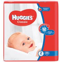 Підгузники Huggies Classic 2 3-6кг 88шт.