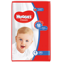 Підгузники Huggies Classic 7-18кг 68шт
