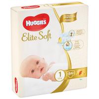 Підгузники Huggies Elite Soft 1 до 5кг 84шт.