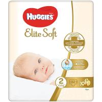 Підгузники Huggies Elite Soft 2 4-6кг 82шт.