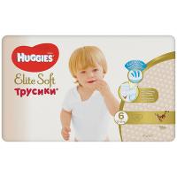 Підгузники Huggies Elite Soft трусики 6 15-25кг 32шт