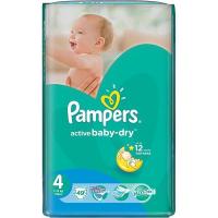 Підгузники Pampers Active Baby-dry Maxi 7-14кг 49шт