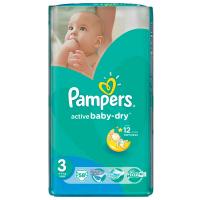 Підгузники Pampers Active Baby-dry Midi 4-9кг 58шт