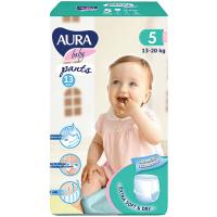 Підгузники-трусики Aura Baby 5/XL 13-20кг 13шт.
