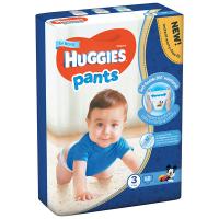 Підгузники-трусики Huggies для хлопчиків 3 5-11кг 58шт.