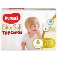 Підгузники-трусики Huggies Elite Soft до 16-22кг 28шт.