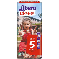 Підгузники-трусики Libero Up&Go 10-14кг 40шт.