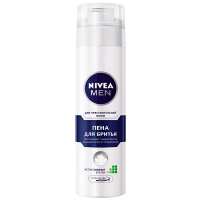 Піна для гоління Nivea Men Чутлива шкіра, 200 мл