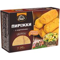 Пиріжки Полісся смажені з картоплею 340г