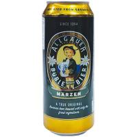 Пиво Allgauer Buble Marzen ж/б 0.5л