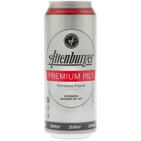 Пиво Altenburger Premium Pils світле 0,5л