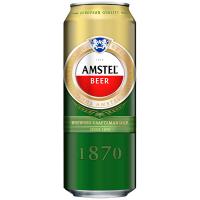 Пиво Amstel 1870 світле фільтроване ж/б 0,5л