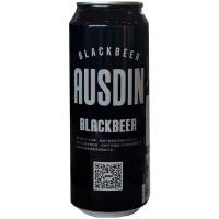 Пиво Ausdin Schwarzbier ж/б 0.5л
