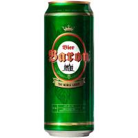 Пиво Baron The Noble Lager ж/б 0.5л