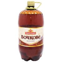 Пиво Полтава Бочкове пет 1,5л