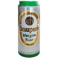 Пиво Brauperle Weizen Bier темне ж/б 0,5л