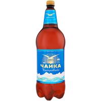 Пиво ППБ Чайка Дніпровська світле фільтроване 4,8% 1,15л ПЕТ