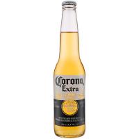 Пиво Corona Extra світле пастеризоване 4.5% с/б 0.33л