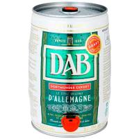 Пиво Dab Original світле фільтроване 5% ж/б 5л