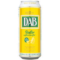 Пиво Dab Radler світле нефільтроване 3% з/б 0.5л